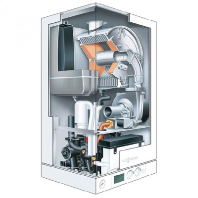 Schema unei centrale termice in condensatie